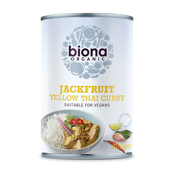 Biona Organic Yellow Thai Curry Jackfruit Can 400g