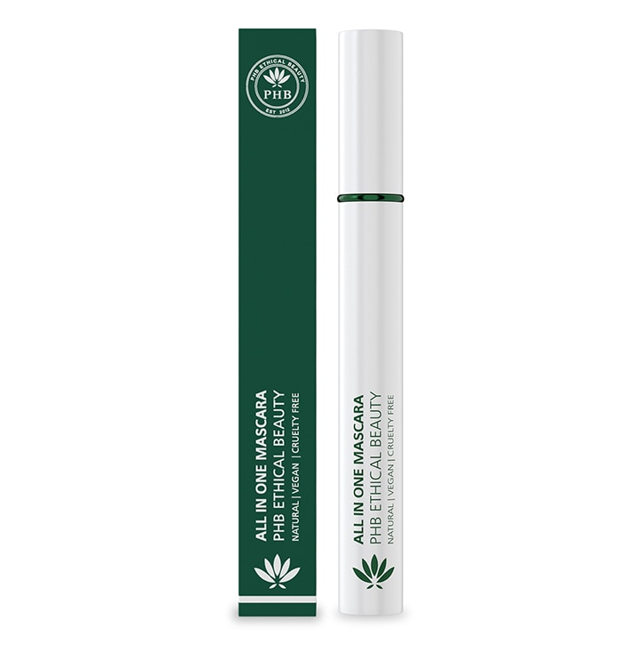PHB Ethical Beauty All in One Natural Mascara - Brown 9g