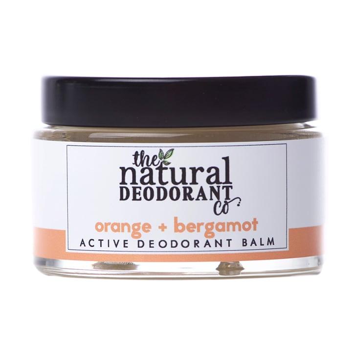 The Natural Deodorant Co Active Deodorant Balm Orange & Bergamot