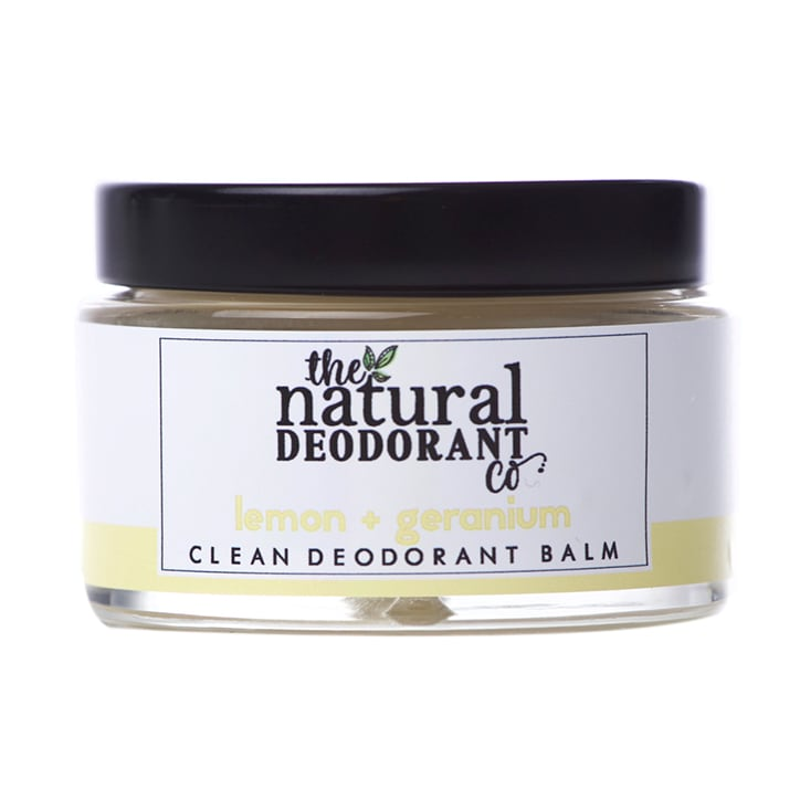 The Natural Deodorant Co Clean Deodorant Balm Lemon & Geranium 55g