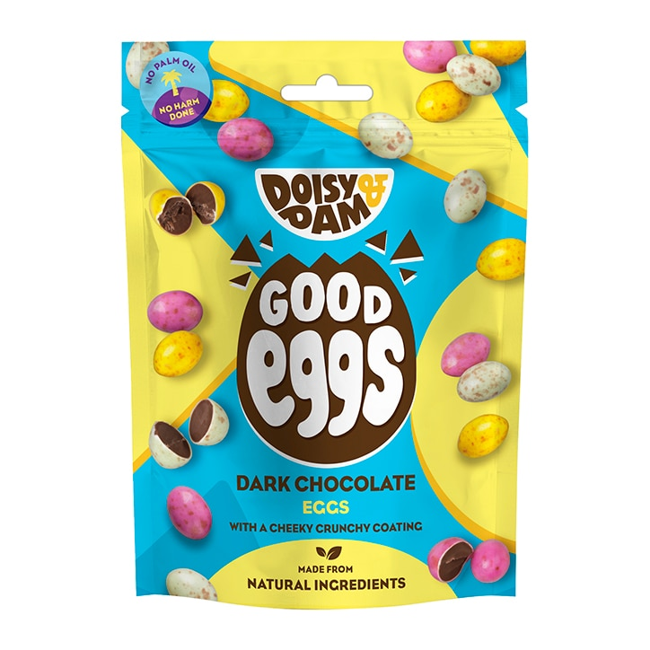 Doisy & Dam Vegan Dark Chocolate Good Eggs 75g