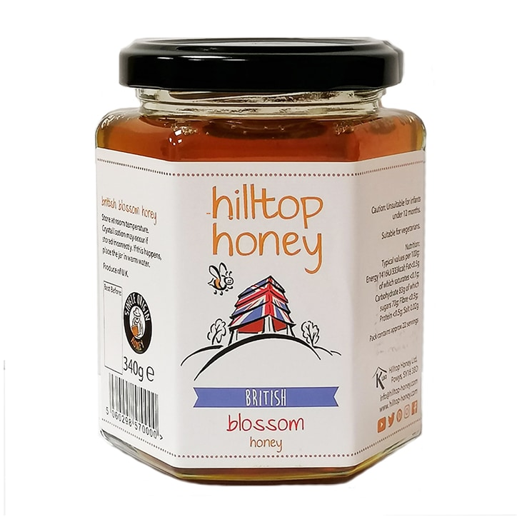 Hilltop Honey British Blossom 340g