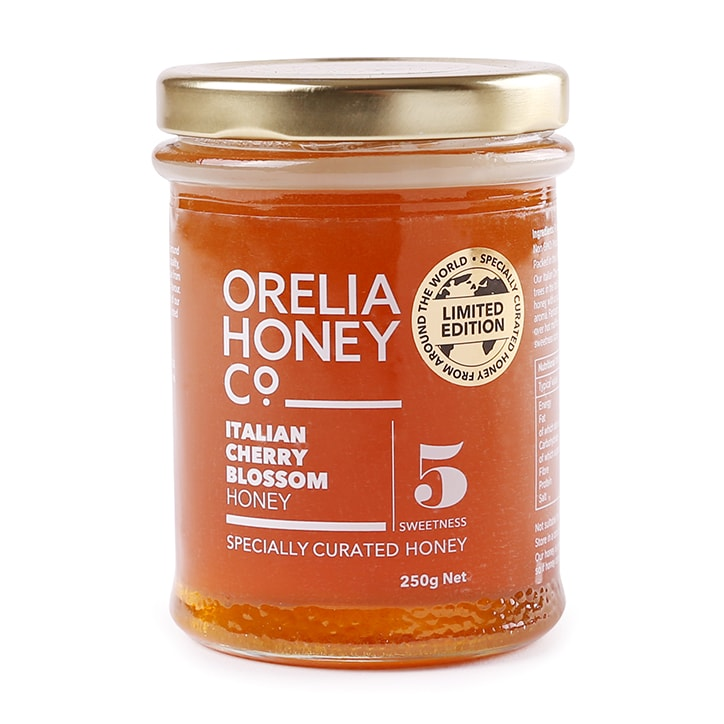 Orelia Limited Edition Italian Cherry Blossom Honey 250g