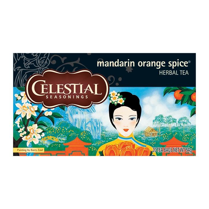 Celestial Mandarin Orange Spice Tea 20 Bags