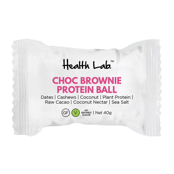 Health Lab Chocolate Brownie Protein Ball