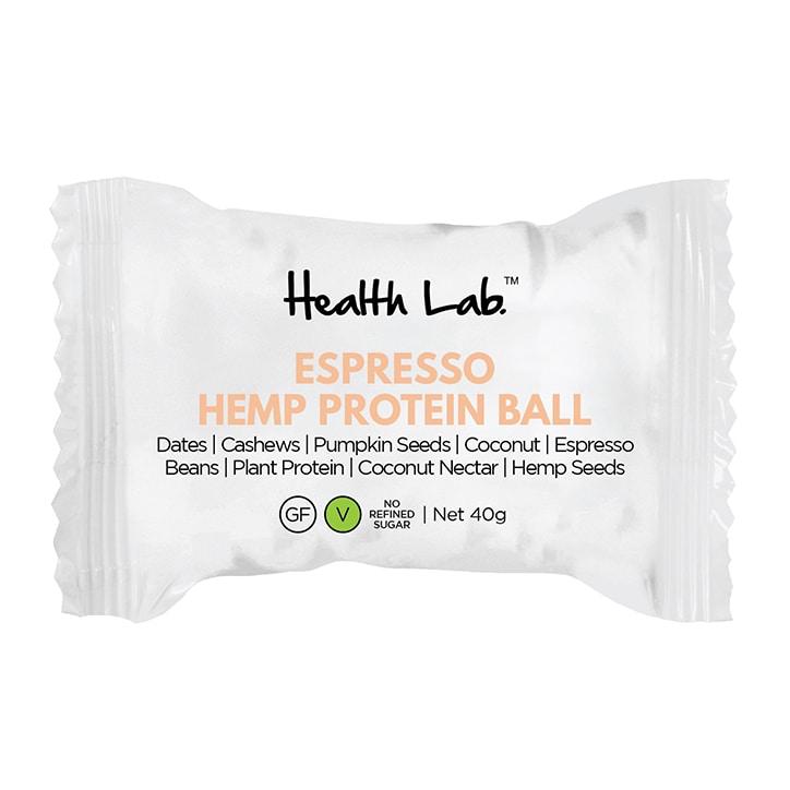 Health Lab Pick Me Up Espresso Hemp Energy Ball 40g