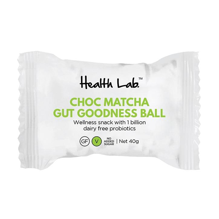 Health Lab Choc Matcha Ball 40g