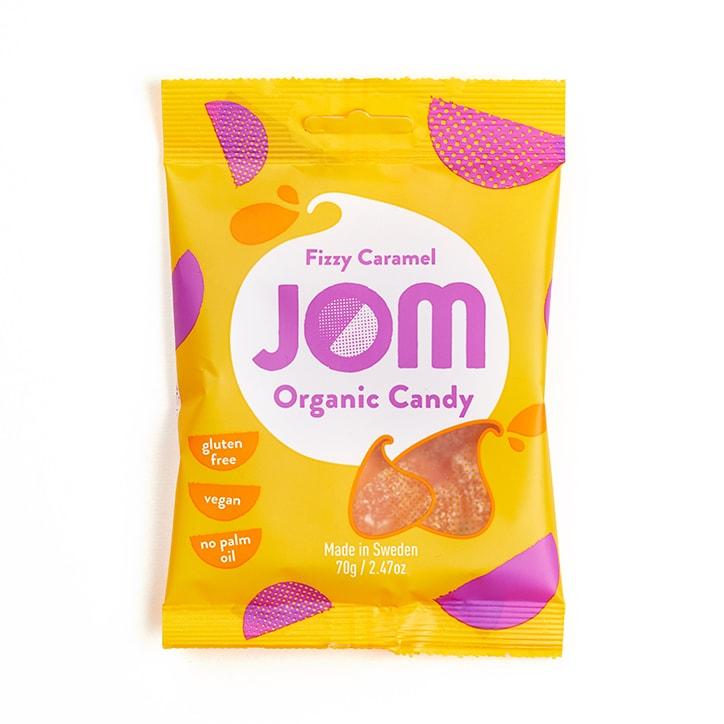 Jom Organic Fizzy Caramel - Bag 70g