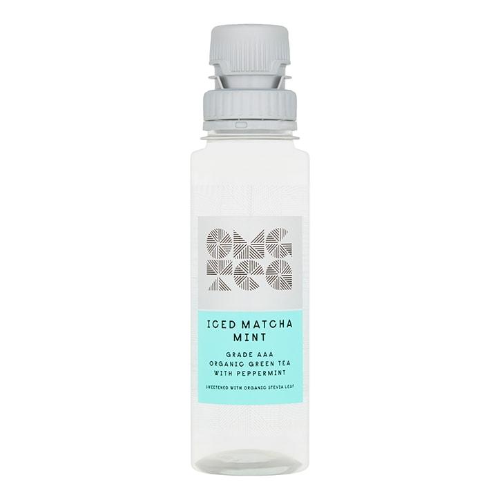 OMGTea Iced Matcha Mint Tea - AAA Grade Organic 250ml