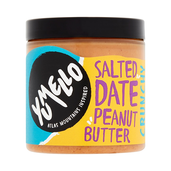 Yumello Crunchy Salted Date Peanut Butter 250g