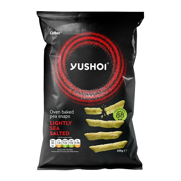 Yushoi Lightly Salted Baked Pea Snack
