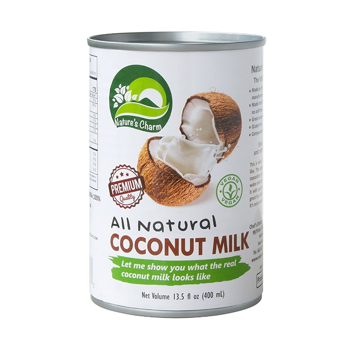 Natures Charm All Natural Coconut Milk 400ml