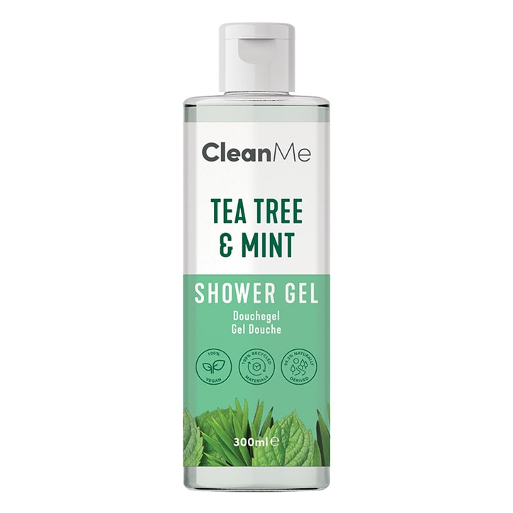Clean Me Tea Tree & Mint Shower Gel