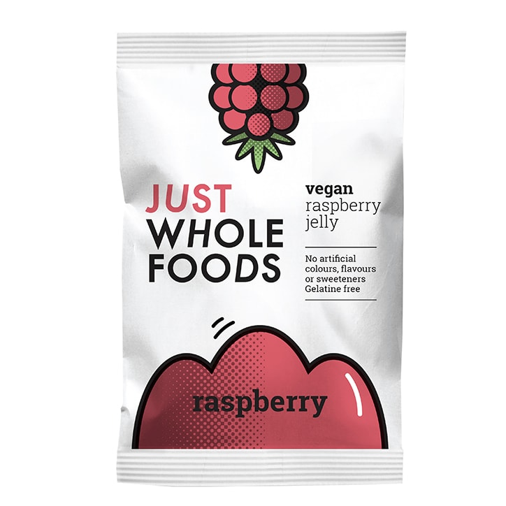 Just Wholefoods Vegan Jelly Crystals Raspberry