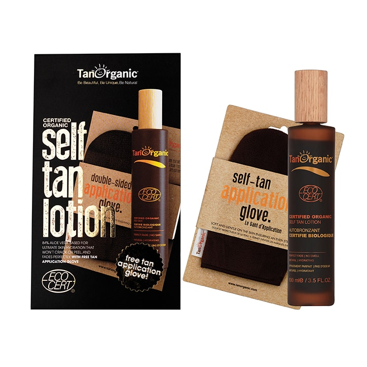 TanOrganic Self Tanning Lotion & Application Glove 100ml