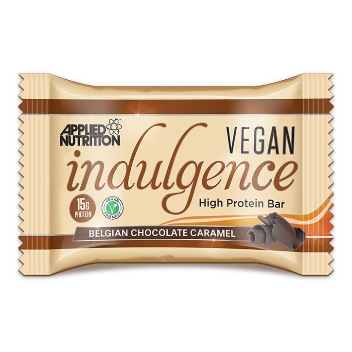 Applied Nutrition Vegan Indulgence Belgian Chocolate Caramel Bar 50g