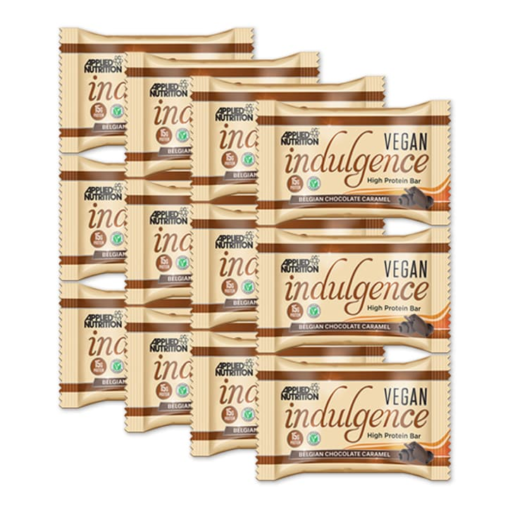Applied Nutrition Vegan Indulgence Belgian Chocolate Caramel 12 x 50g