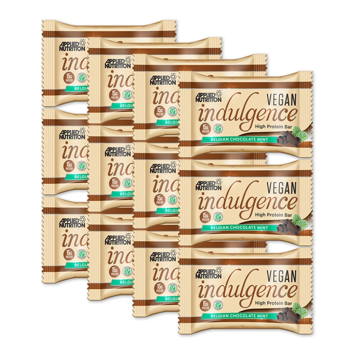 Applied Nutrition Vegan Indulgence Belgian Chocolate Mint 12 x 50g