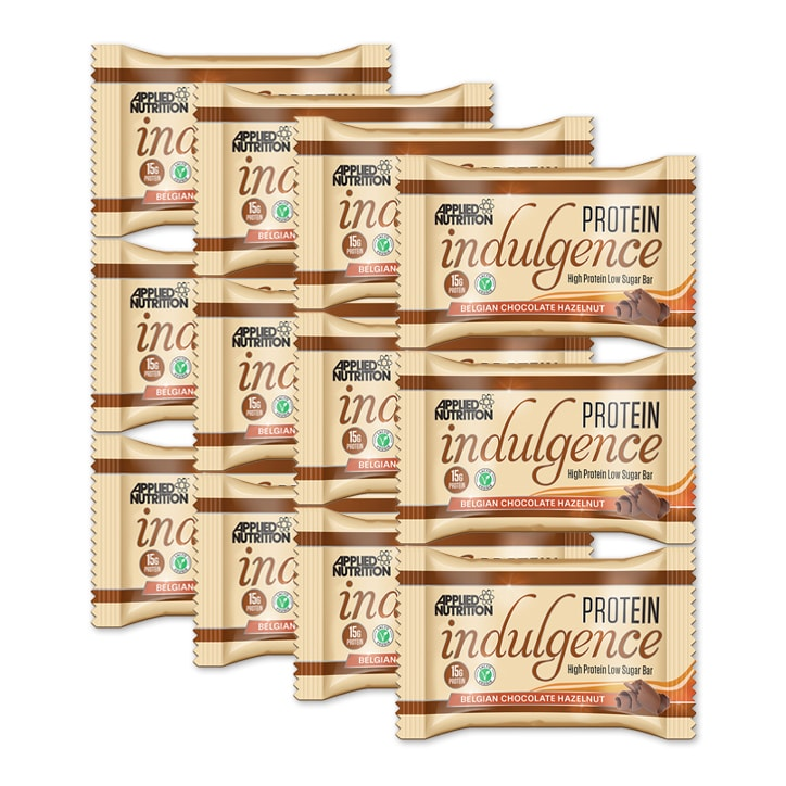 Applied Nutrition Indulgence Chocolate Hazelnut 12 x 50g