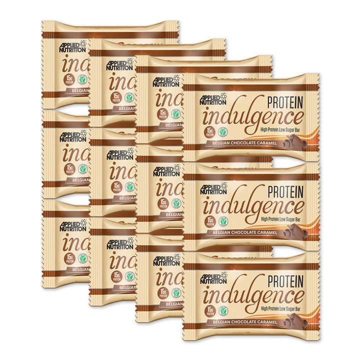Applied Nutrition Indulgence Chocolate Caramel 12 x 50g