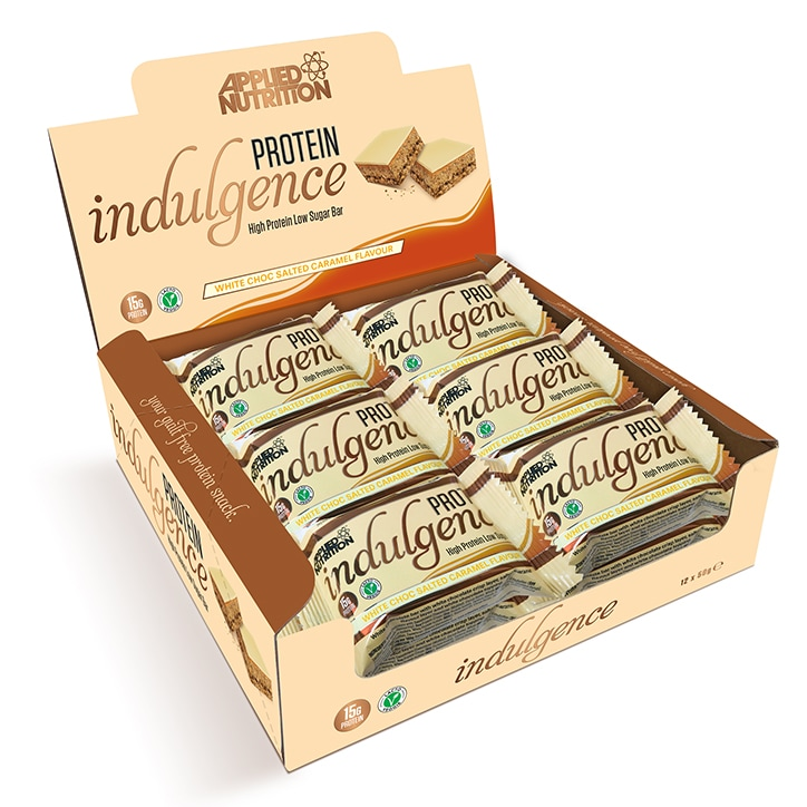 Applied Nutrition Indulgence White Chocolate Salted Caramel 12 x 50g
