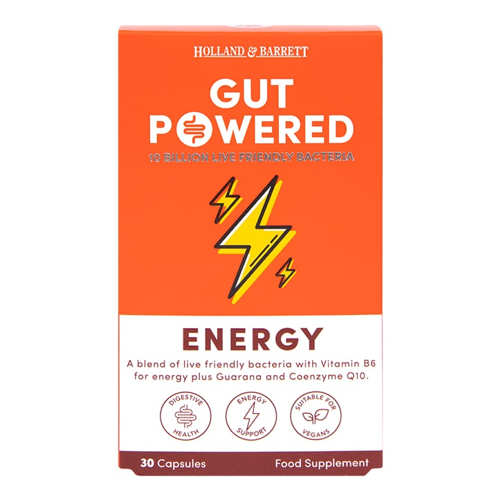 Holland & Barrett Gut Powered Energy Capsules