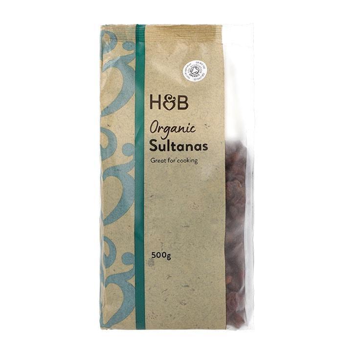 Holland & Barrett Organic Sultanas 500g