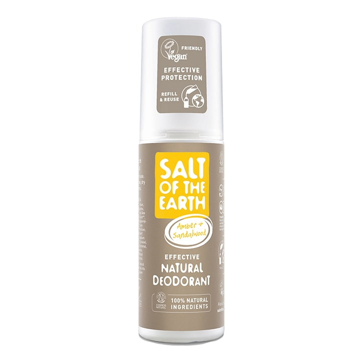 Salt of the Earth - Amber & Sandalwood Deodorant Spray 100ml