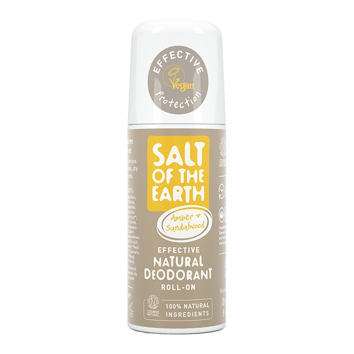 Salt of the Earth - Amber & Sandalwood Roll-On Deodorant 75ml