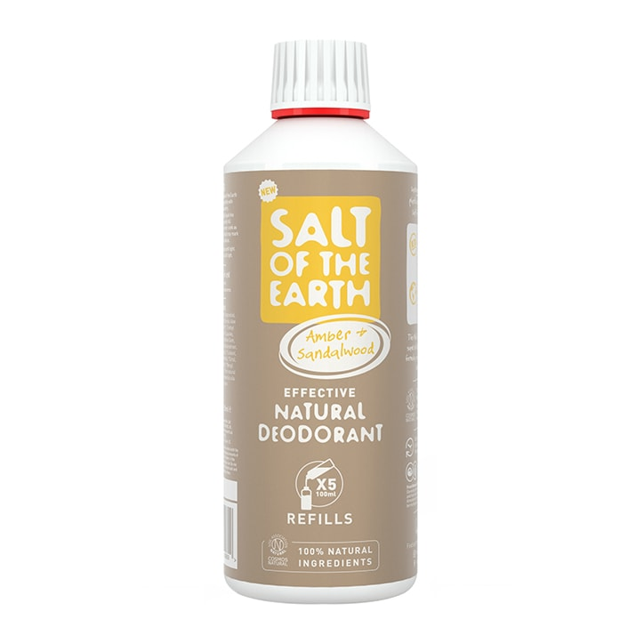 Salt of the Earth - Amber & Sandalwood Spray Refill 500ml