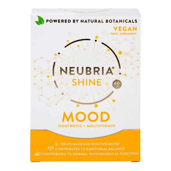 Neubria Shine Mood Multivitamin Vegan 60 Capsules