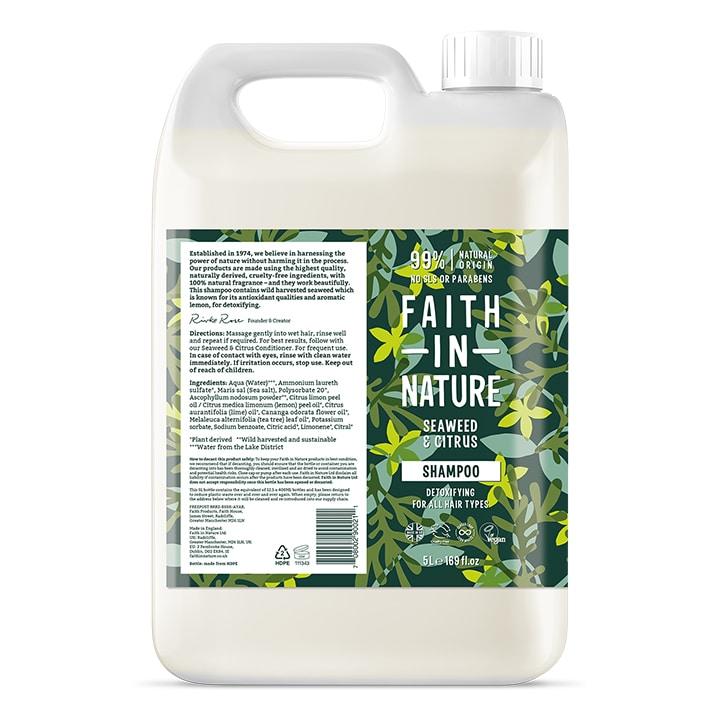 Faith in Nature - Seaweed Shampoo 5L