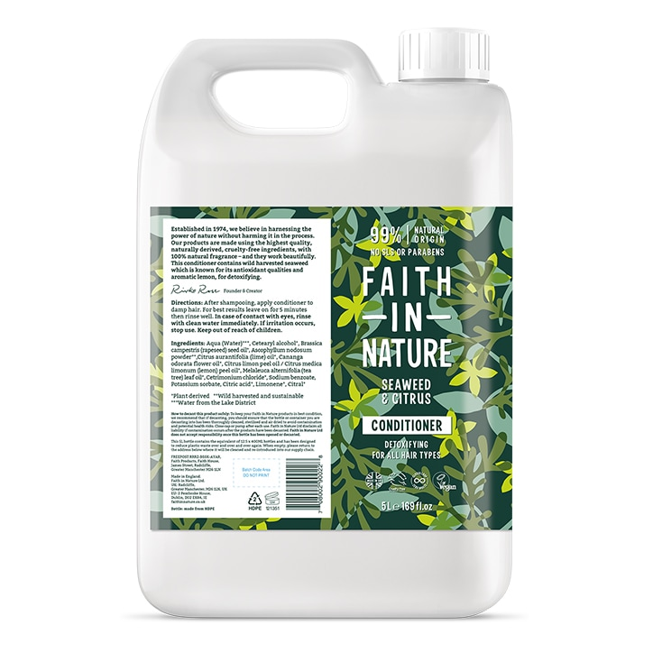 Faith in Nature - Seaweed Conditioner 5L