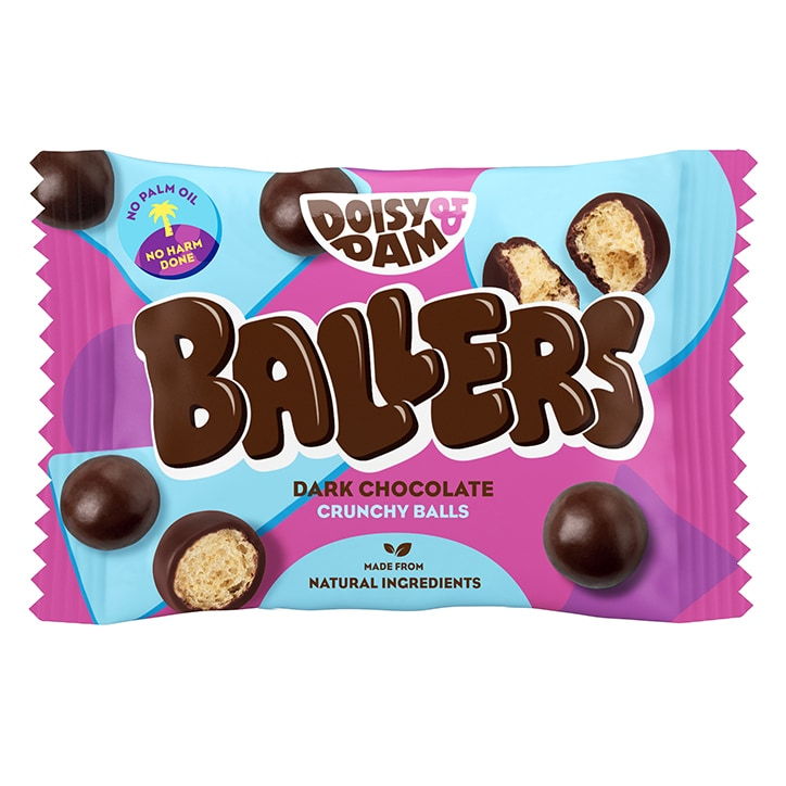 Doisy & Dam Ballers Vegan Dark Chocolate Balls 25g