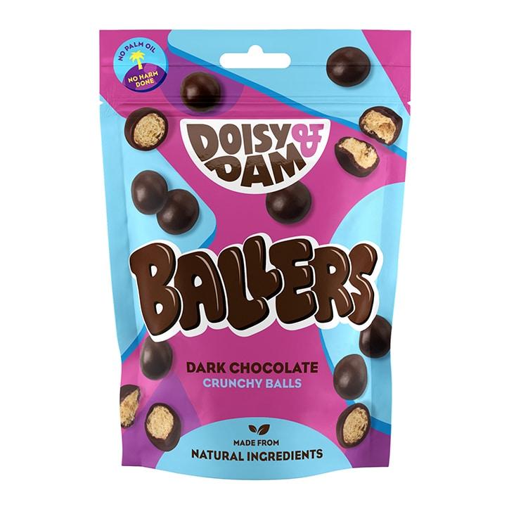 Doisy & Dam Ballers Vegan Dark Chocolate Balls 75g