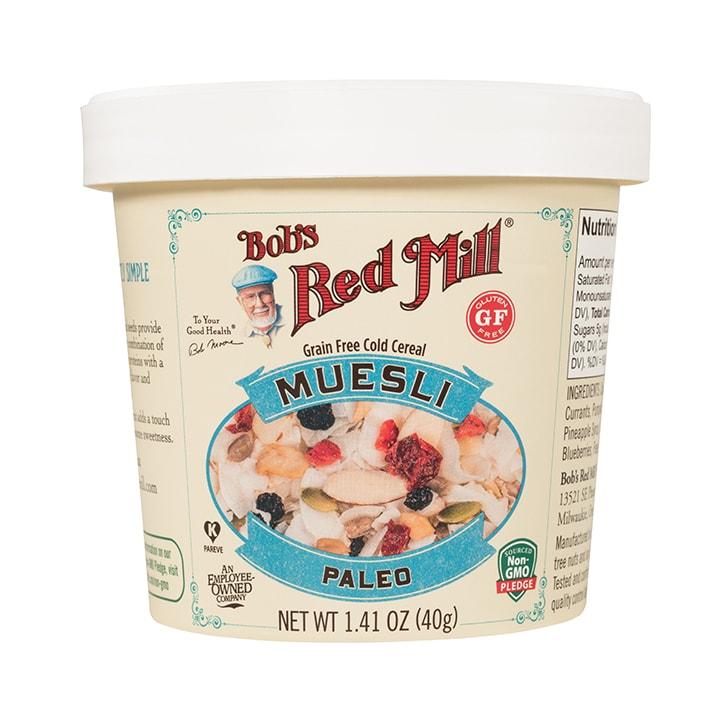 Bobs Red Mill Gluten Free Paleo Muesli Cup 59g