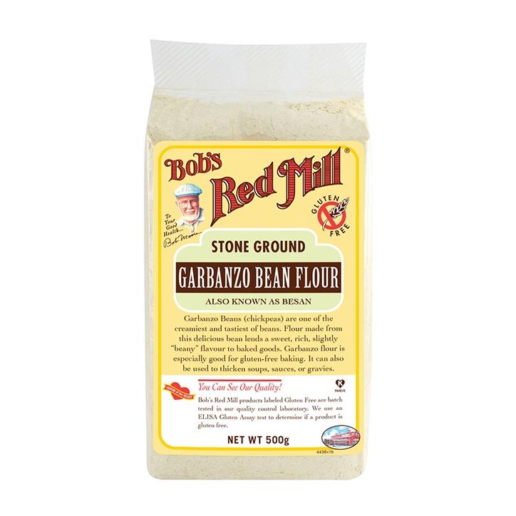 Bobs Red Mill Gluten Free Garbanzo (Chick Pea) Flour 500g