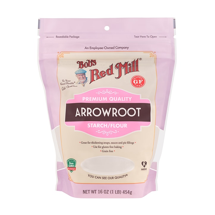 Bobs Red Mill Arrowroot Starch Flour 454g