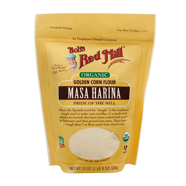 Bobs Red Mill Organic Golden Masa Harina Flour