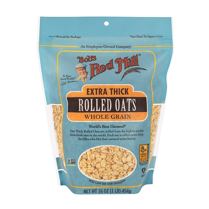 Bobs Red Mill Thick Rolled Oats 454g