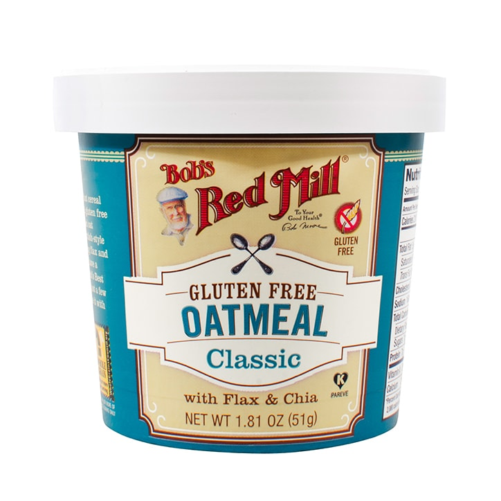 Bobs Red Mill Gluten Free Classic Oatmeal Cup 51g