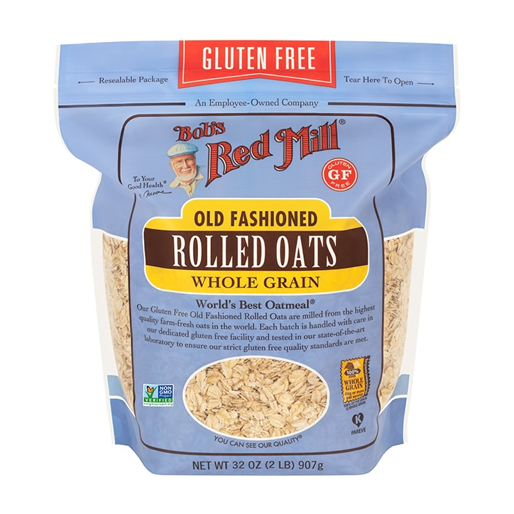 Bobs Red Mill Gluten Free Regular Rolled Oats 907g