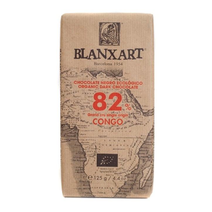 Blanxart Organic Congo Dark 82% Chocolate