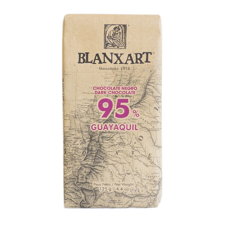 Blanxart Ecuador Dark 95% Chocolate 125g
