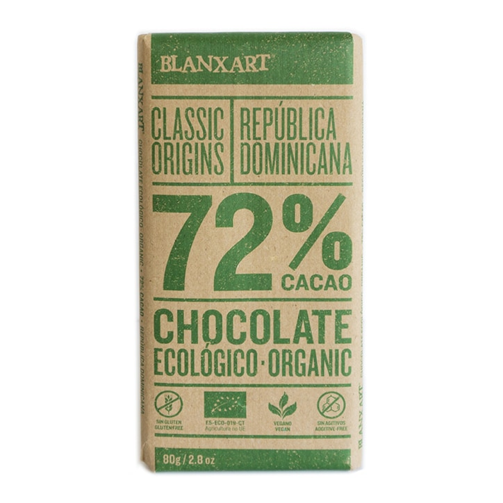Blanxart Organic Dominica Dark 72% Chocolate