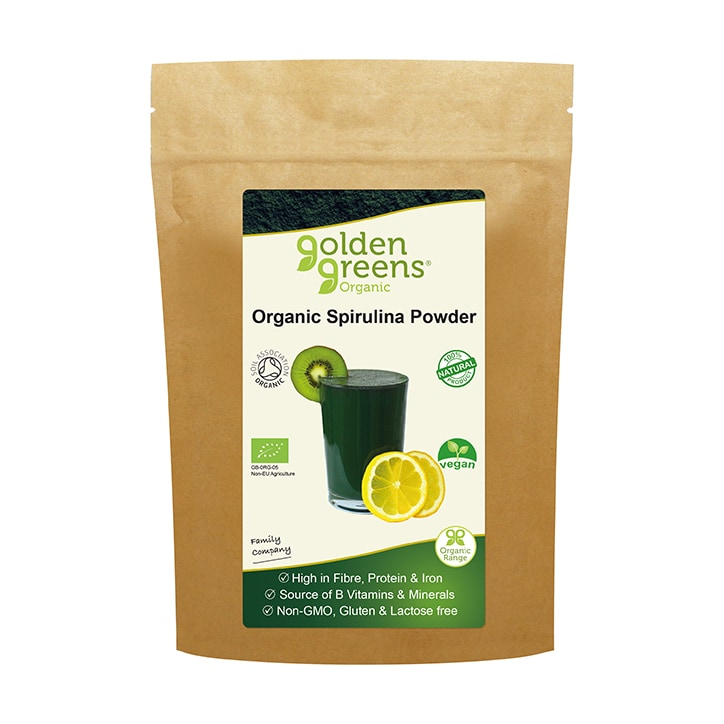 Golden Greens Organic Spirulina Powder