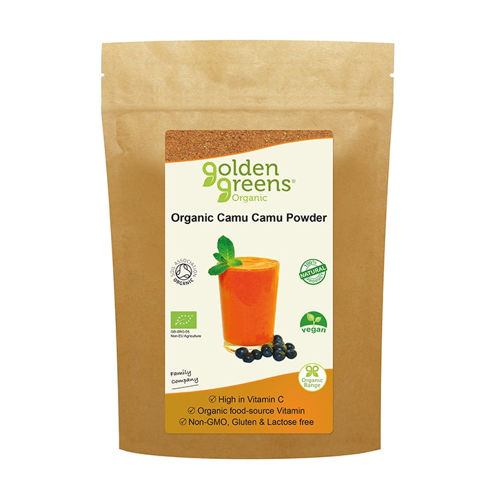 Golden Greens Organic Camu Camu Powder 40g