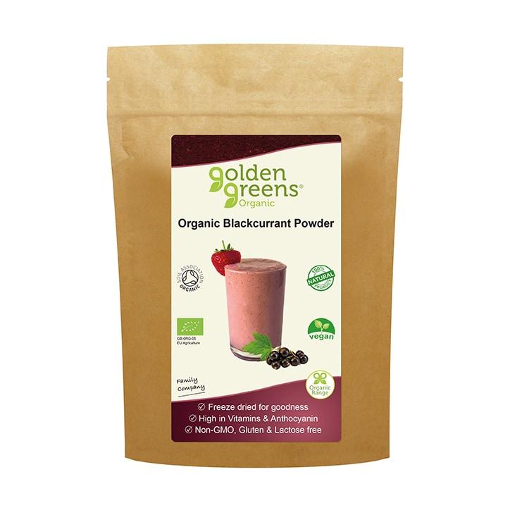 Golden Greens Organic Blackcurrant Powder 100g