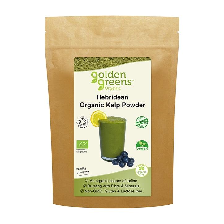 Golden Greens Organic Hebridean Kelp Powder 100g