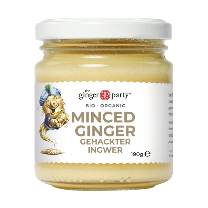 Ginger Party Organic Minced Ginger